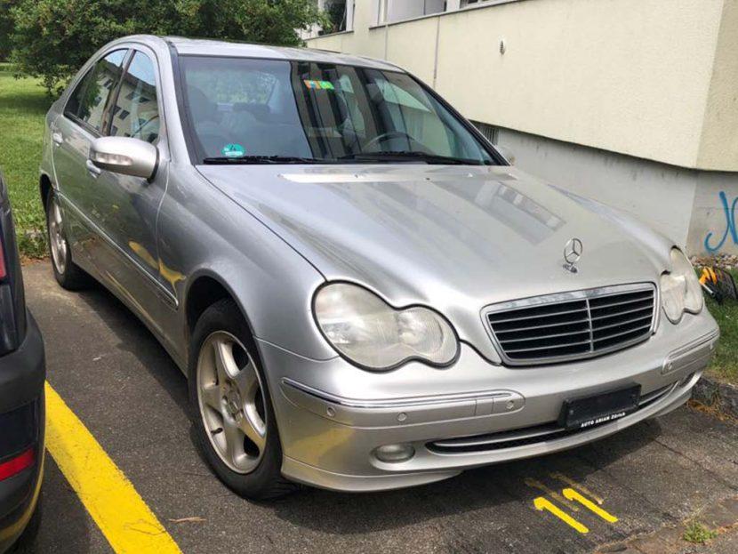 Mercedes Benz C240 automatique cuir clima 2003 245000km
