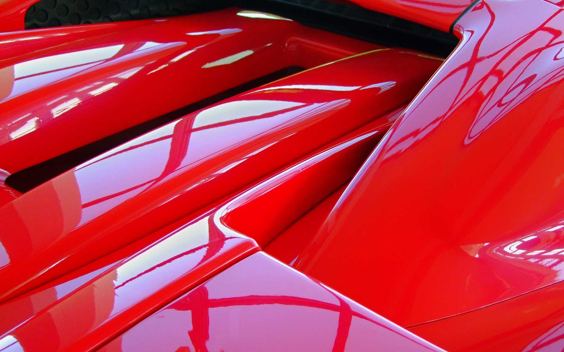 ferrari arriere detail achat voiture suisse